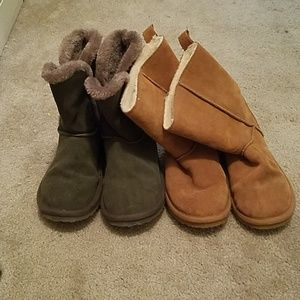 2 Pairs of American Eagle Booties